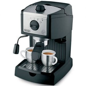 delonghi ec155 pump espresso machine review