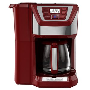 BLACK+DECKER CM5000R 12-Cup Mill and Brew Coffee Maker