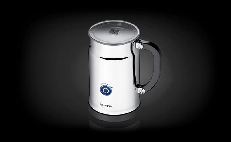 how to use the nespresso aeroccino plus milk frother