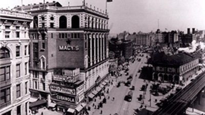 macy's in 1920 in new york: black friday is born