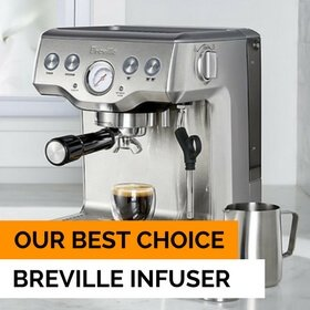 our choice - best espresso machine for beginners